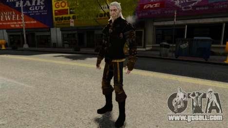 Geralt of Rivia v1 for GTA 4 forth screenshot