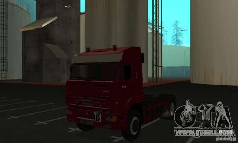 KAMAZ 5460 Skin 1 for GTA San Andreas left view