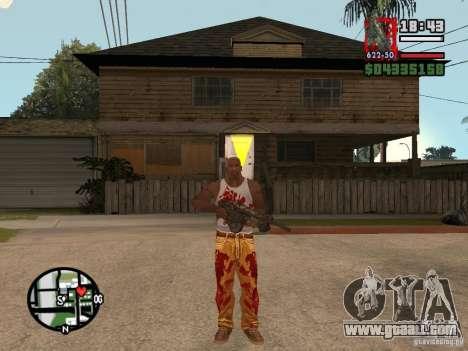 BulletStorm M4 for GTA San Andreas second screenshot