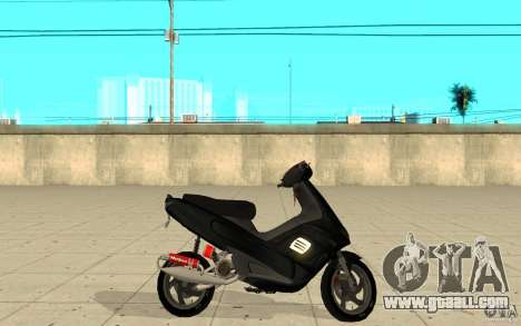 Gilera Runner 50SP Skin 2 for GTA San Andreas left view
