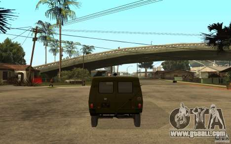 UAZ 3972 for GTA San Andreas back left view