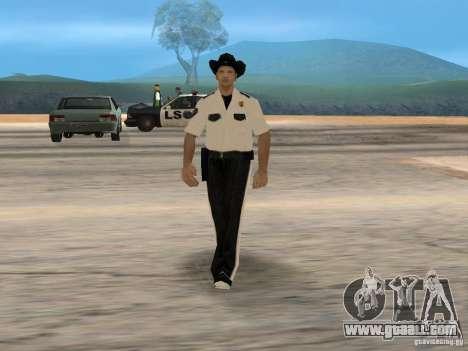 Cops skinpack for GTA San Andreas