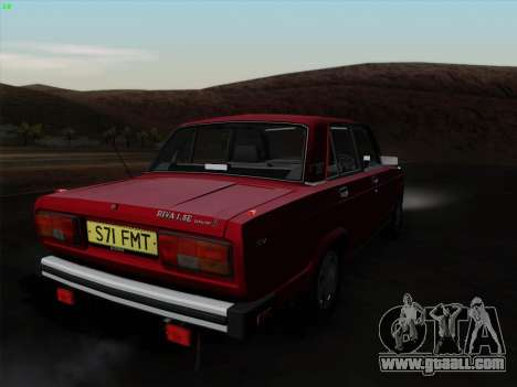 Lada 2105 RIVA (export) 2.0 for GTA San Andreas left view