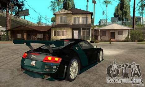 Audi R8 LMS for GTA San Andreas right view