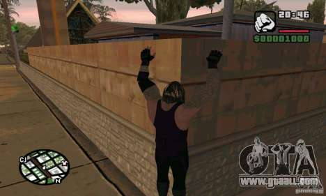The undertaker from Smackdown 2 for GTA San Andreas fifth screenshot