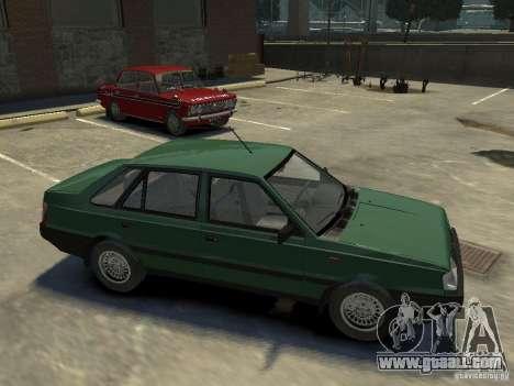 FSO Polonez for GTA 4 bottom view