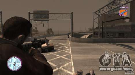 VC Style Radar/HUD (2 skins) for GTA 4 sixth screenshot