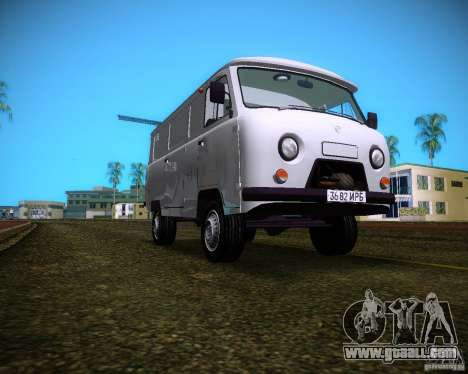 UAZ-3741 for GTA Vice City back view
