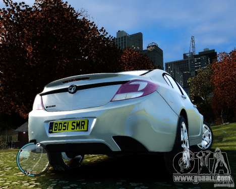 Vauxhall Insignia v1.0 for GTA 4 side view