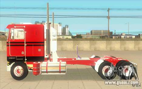 Kenworth K100 Extended Wheel Base for GTA San Andreas left view