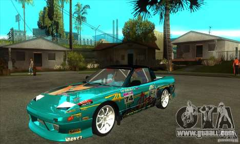 Nissan 200sx from Moscow Drift for GTA San Andreas