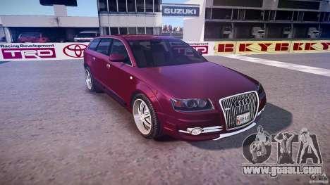 Audi A6 Allroad Quattro 2007 wheel 1 for GTA 4 side view