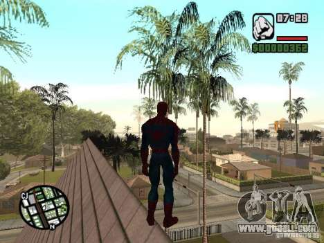 Spider Man From Movie for GTA San Andreas seventh screenshot