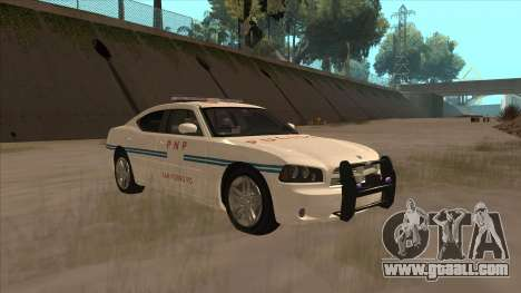 Dodge Charger PNP SAN FIERRO for GTA San Andreas back view