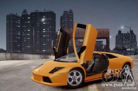 Lamborghini Murcielago for GTA 4 inner view