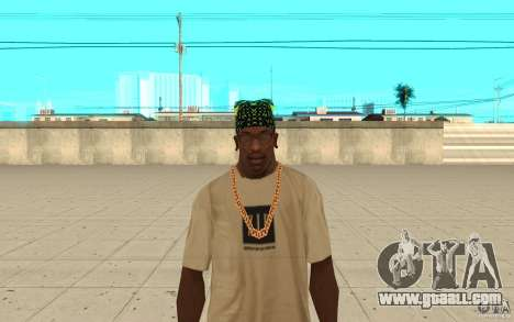 Bandana xbox for GTA San Andreas