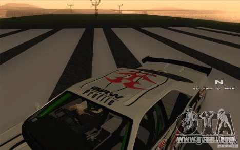 Nissan Skyline ER34 D1GP Blitz for GTA San Andreas right view