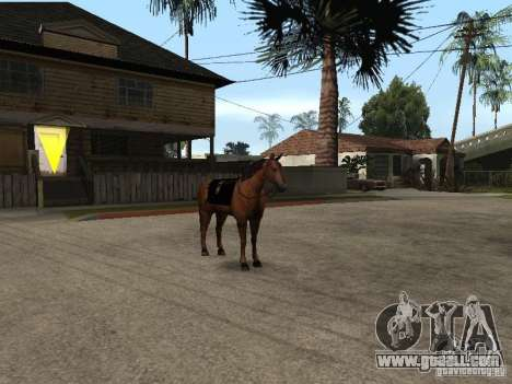 Horse for GTA San Andreas seventh screenshot