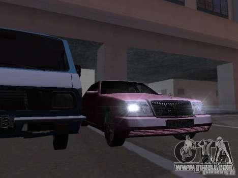 Mercedes-Benz S600 W140 v 2.0 for GTA San Andreas interior