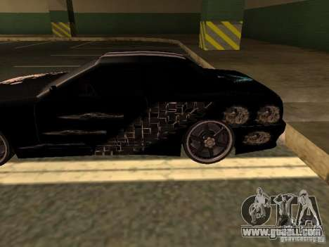 2-vinyl for Elegy by Drago for GTA San Andreas left view