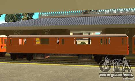 Liberty City Train CP for GTA San Andreas left view
