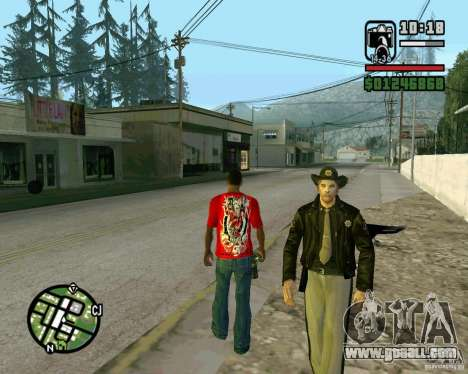 New Sheriff for GTA San Andreas