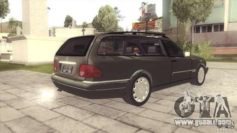 Mercedes-Benz E320 Funeral Hearse for GTA San Andreas right view
