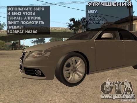 Tuning machine anywhere for GTA San Andreas third screenshot