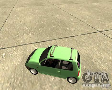Volkswagen Lupo Hellaflush for GTA San Andreas back view