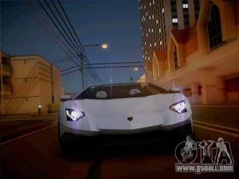 Lamborghini Aventador LP700-4 Roadstar for GTA San Andreas right view