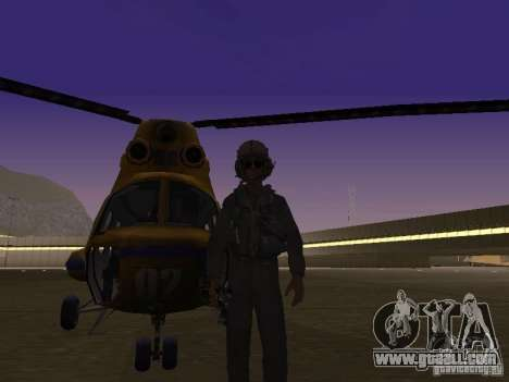 MI-2 Police for GTA San Andreas left view