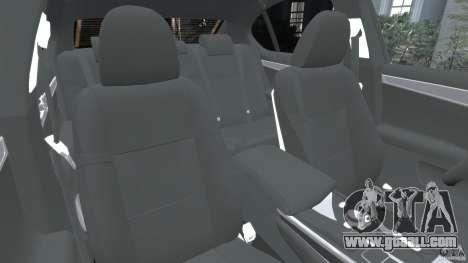 Lexus GS350 2013 v1.0 for GTA 4 inner view