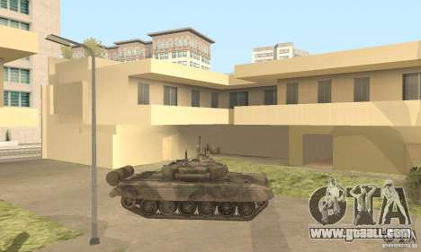 T-90A for GTA San Andreas left view