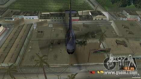 Maverick Bell-Huey for GTA Vice City back view