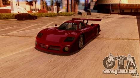 Nissan R390 GT1 98 v1.0.3 for GTA San Andreas