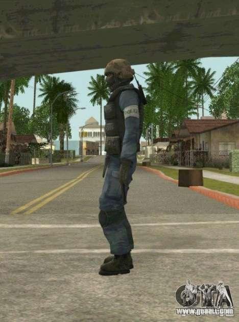 Counter-terrorist for GTA San Andreas sixth screenshot
