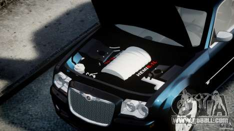 Chrysler 300C SRT8 for GTA 4 right view