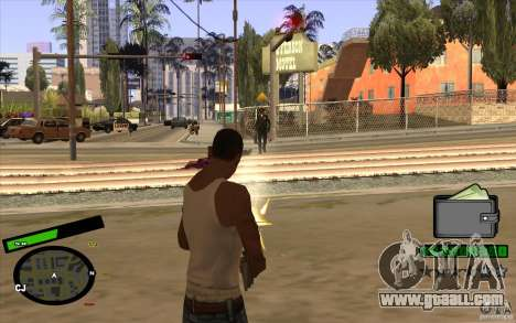 New HUD for GTA San Andreas third screenshot