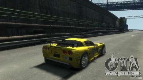 Chevrolet Corvette C6-R for GTA 4 left view