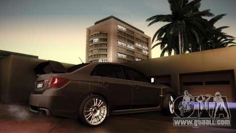 Subaru Impreza WRX STi 2011 for GTA San Andreas right view