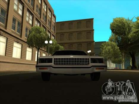 Chevrolet Caprice 1986 for GTA San Andreas back left view