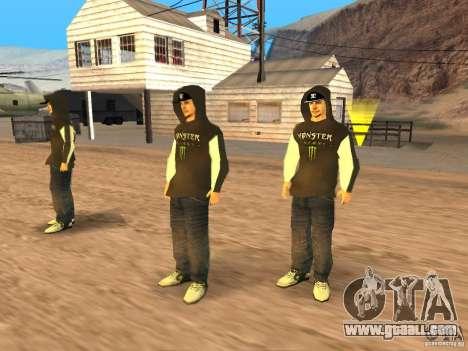 Ken Block Family for GTA San Andreas