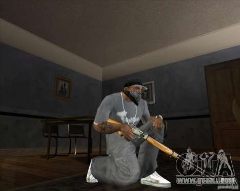 Jarra Mono Arsenal v1.2 for GTA San Andreas sixth screenshot