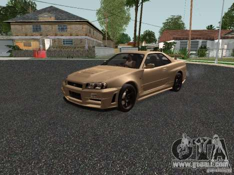Nissan Skyline Z-Tune for GTA San Andreas