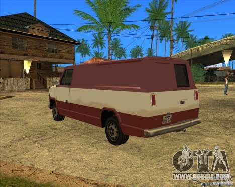 Transporter 1987 - GTA San Andreas Stories for GTA San Andreas left view