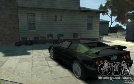 Lotus Esprit V8 for GTA 4 back left view