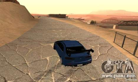 New Drift Zone for GTA San Andreas forth screenshot