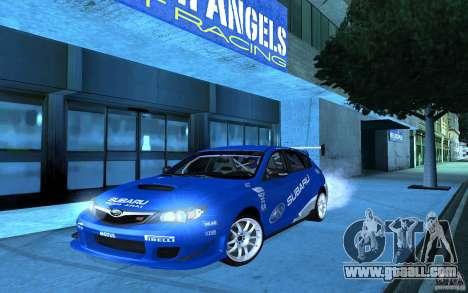 Subaru Impreza WRX STI 2008 Tunable for GTA San Andreas