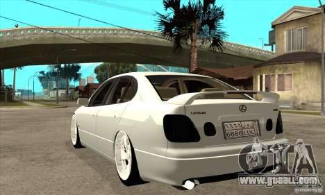 Lexus GS300 V 2003 for GTA San Andreas right view