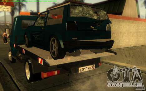 3302-Gazelle 14 tow truck for GTA San Andreas right view